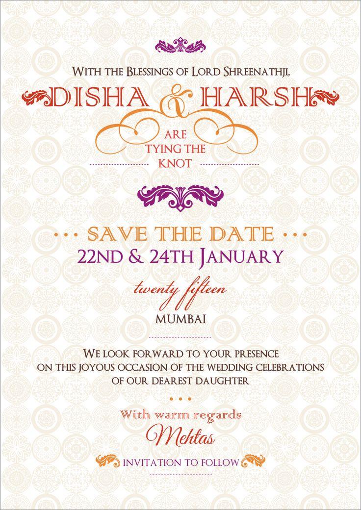 39 best Online invites images on Pinterest Indian bridal, Indian - fresh invitation unveiling wording