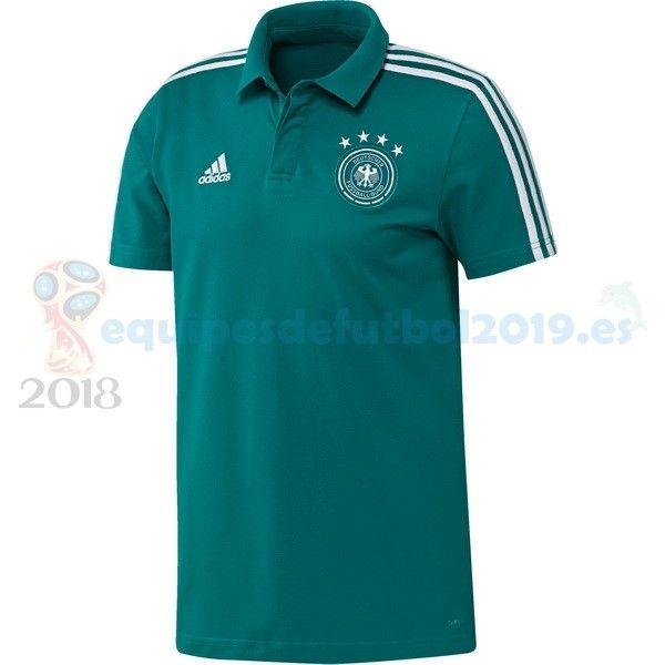 Camisetas De Futbol POLO  Equipos De Futbol Baratas 2018 - Futbol Originales  Polo Alemania 2018 Azul bd5cb593e3e1d