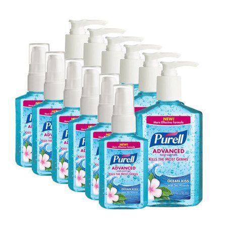 Purell Ocean Kiss 2oz 6pk 8oz 6pk Hand Sanitizer Nourishing