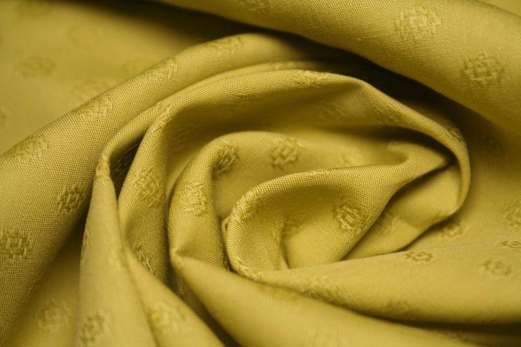 Tessuti di cotone, color acido, stretch, alta vestibilità con disegno vintage di UMEfabrics su Etsy