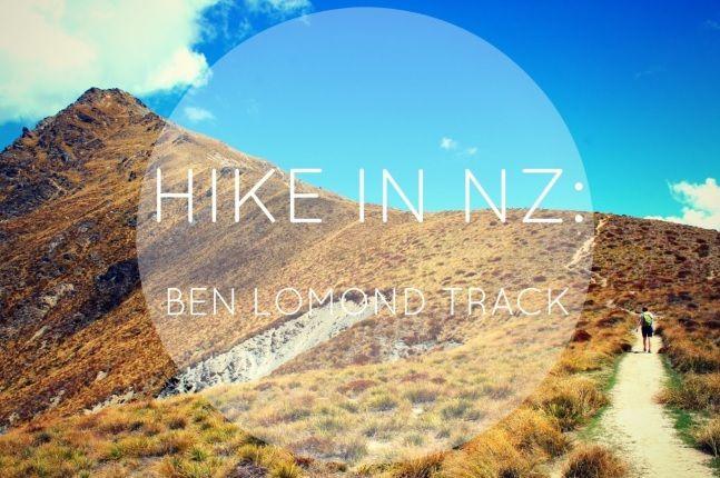 Hike in NZ: The Ben Lomond Track http://marieaway.com/hike-nz-ben-lomond-track/
