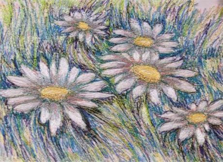 How to turn your painting or drawing into textile art @ Love-To-Sew.com