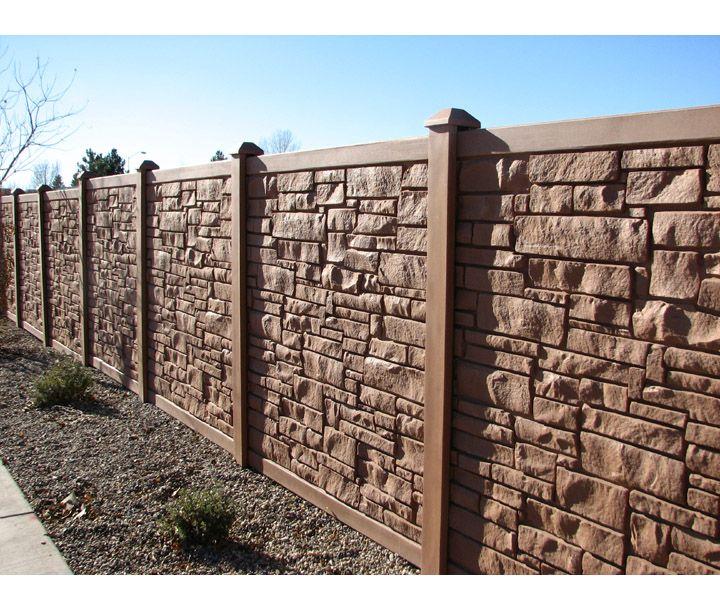 Bufftech Allegheny Vinyl Fence Sections Vinyl Fence Fence Sections Fence Styles