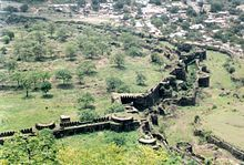 Delhi Sultanate - Muhammad bin Tughlaq moved his capital to the Deccan Plateau, ordered Delhi people to move and build a new capital named Daulatabad (shown), then reversed his decision because Daulatabad lacked the river and drinking water supply Delhi had Wikipedia, the free encyclopedia