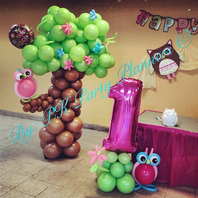 Owl 1st Birthday https://www.facebook.com/pages/PK-Party-Planners/435867733178759?ref=bookmarks