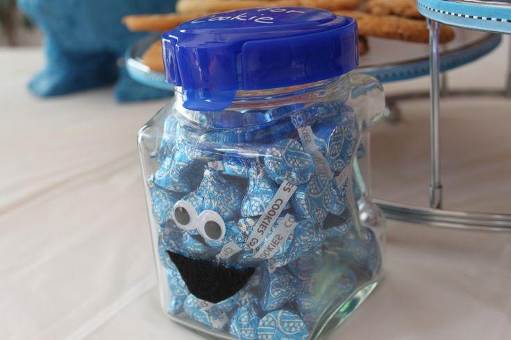 cookie monster baby shower on pinterest monster decorations monster