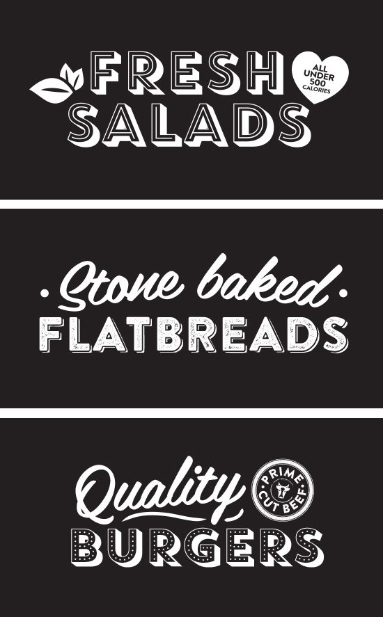 Blackboard Typography Design, Bar Vector Graphics by www.diagramdesign.co.uk