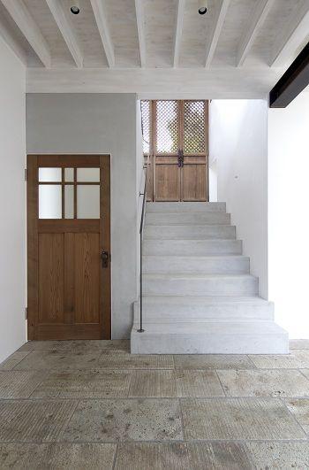 古建具と白い壁 : クラフトサイエンスの日記