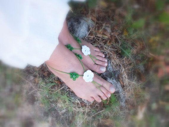 free ship Beads Crochet Foot Jewelry Wear Yoga Hippie Festival Boho Beach Anklet Destination wedding fringed shoes