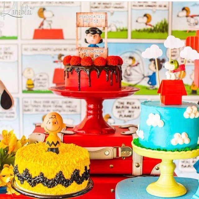 Que lindo para o tema Snoopy! Imagem @scrapfest ! #loucaporfestas  #cakelpf…