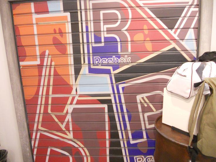 #reebok #jkrproductions #showroom #monza #setup #shoes #sport #street #oil #mural
