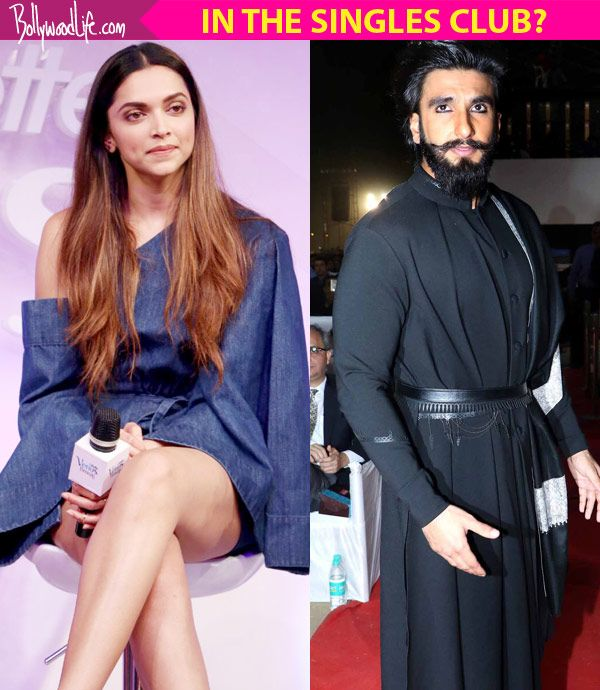 20 solo outings in 2017 and just one together – are Deepika Padukone and Ranveer Singh back in the singles club? #FansnStars
