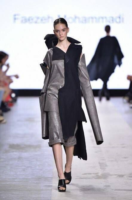 Fear by Faeze Mohammadi @faeze3917 fashion collection Milan , Italy