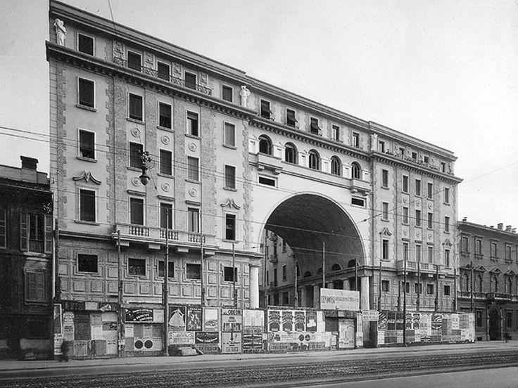Palazzo della Società Buonarroti-Carpaccio-Giotto - Piero Portaluppi - itineraries - Ordine degli architetti, P.P.C della provincia di Milan...