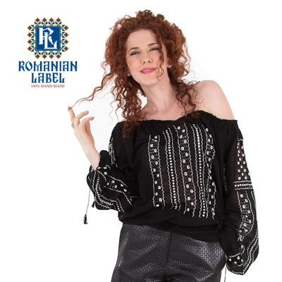 $197.55 Long-sleeved Traditional Romanian Blouse RL0001 100% hand made http://www.romanianlabel.ro/en/ii-cu-maneca-lunga/ie-traditionala-romaneasca-cu-maneca-lunga-RL0001