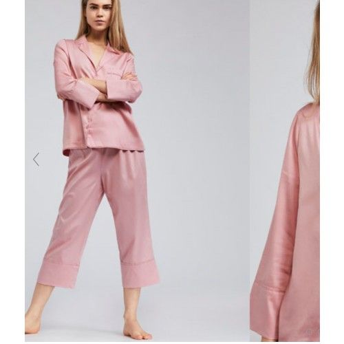 Pantalon uni rose Oysho taille S