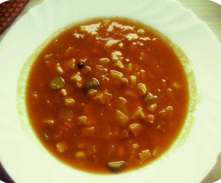 Rezept Soljanka ( Die Echte Ost-Soljanka) von Loewenzahn24 - Rezept der Kategorie Suppen