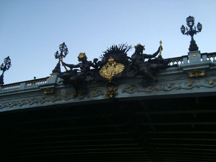 Puente sobre el Sena. París