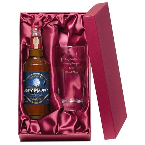 Personalised Christmas Beer Gift Set  from Personalised Gifts Shop - ONLY £29.95