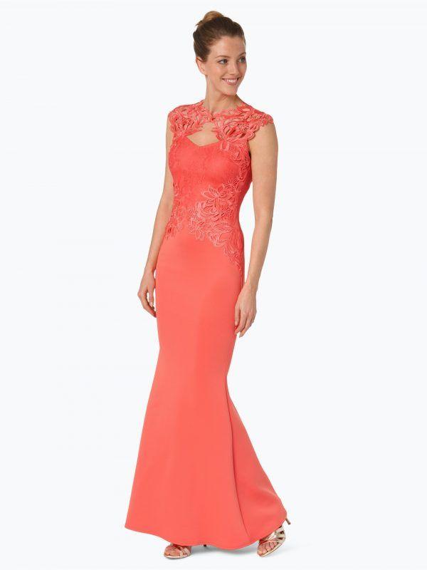 0864a5f2f Lipsy długa sukienka wieczorowa koralowa // Długa suknia wieczorowa #długie  suknie wieczorowe, #