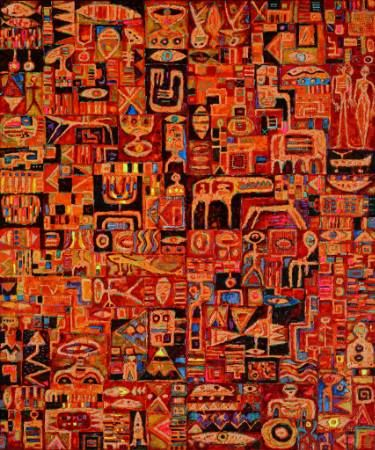 "Saatchi Art Artist Krzysztof Pajak; Painting, ""The straight story"" #art"