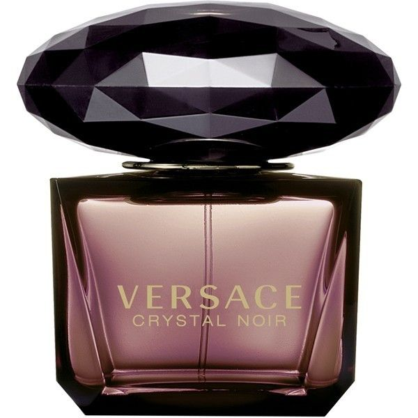 Versace 'Crystal Noir' Eau de Toilette ($73) ❤ liked on Polyvore featuring beauty products, fragrance, perfume, beauty, makeup, accessories, no color, versus perfume, perfume fragrances and couture perfume