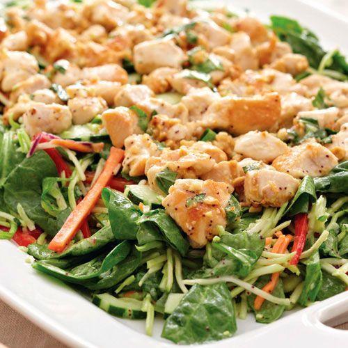 Thai+Chicken+Stir-Fry+Salad+-+The+Pampered+Chef®