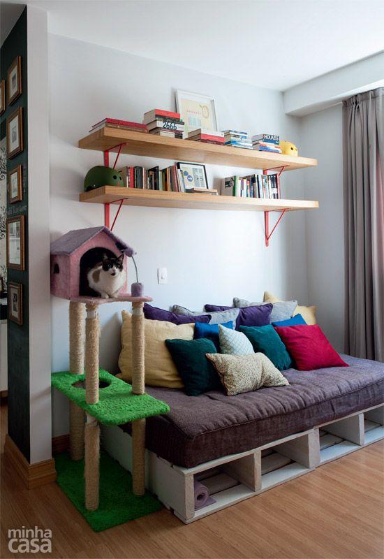 Apartamento alugado parece novo e nem precisou de reforma - Casa