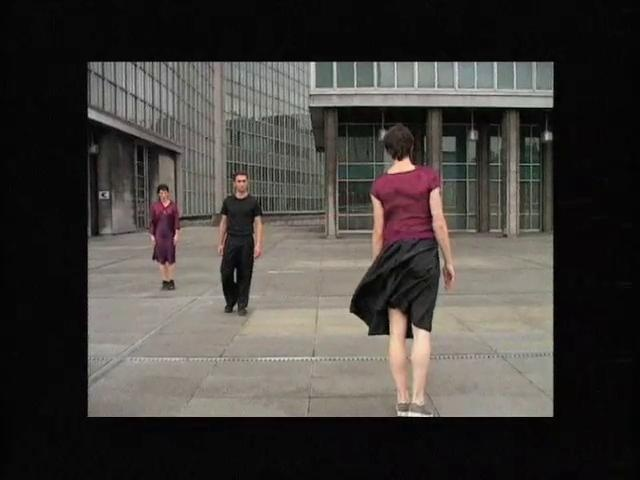 Counter Phrases, 2004, film de Thierry De Mey, sur une chorégraphie de Anne Teresa De Keersmaeker.