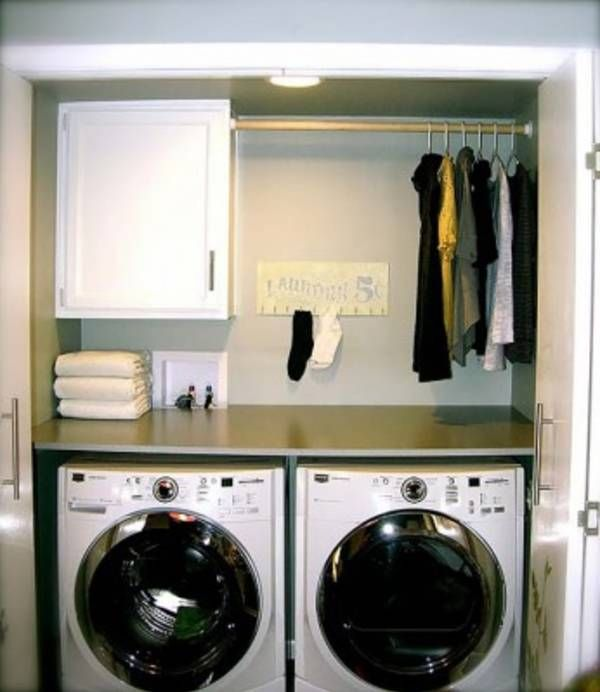 Small Laundry Room Design Ideas-15-1 Kindesign