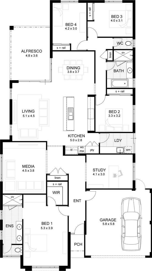 15 best House plans images on Pinterest House design, Architecture - fresh blueprint consulting ballarat
