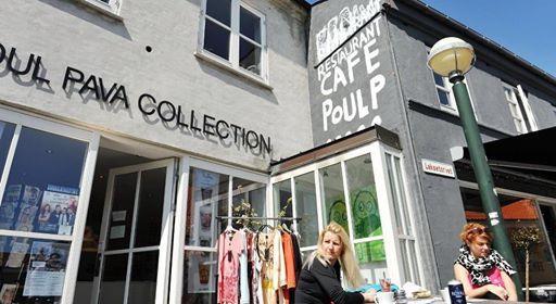 Poul Pava shop in Rønne - Bornholm