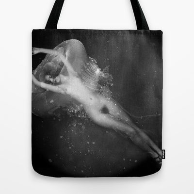 Turritopsis nutricula Tote Bag by Valentina Gelso Nero - $22.00