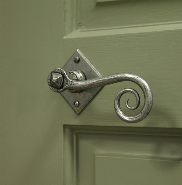 37 best Door Handles Pewter images on Pinterest | Lever door handles ...
