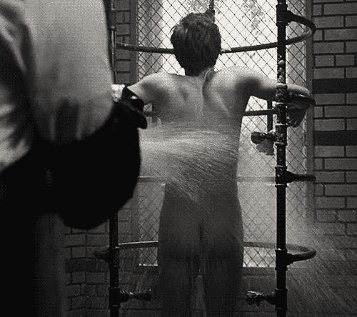 evan peters -gif shower!! <3 <3