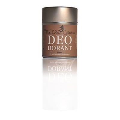 Himalayan Cedarwood (Cedrus Atlantica) The Cedar tree is famous from Lebanon to the temple of Solomon, as the latin name shows it is a powerful deodorizing essential oil. If you suffer from excessive perspiration and/or body odor, we can recommend this Deo Dorant from The Ohm Collection. Please remember the benefits of a alkalizing diet, for a fragrant body odor.  Cedarwood has a characteristic woody fragrance.