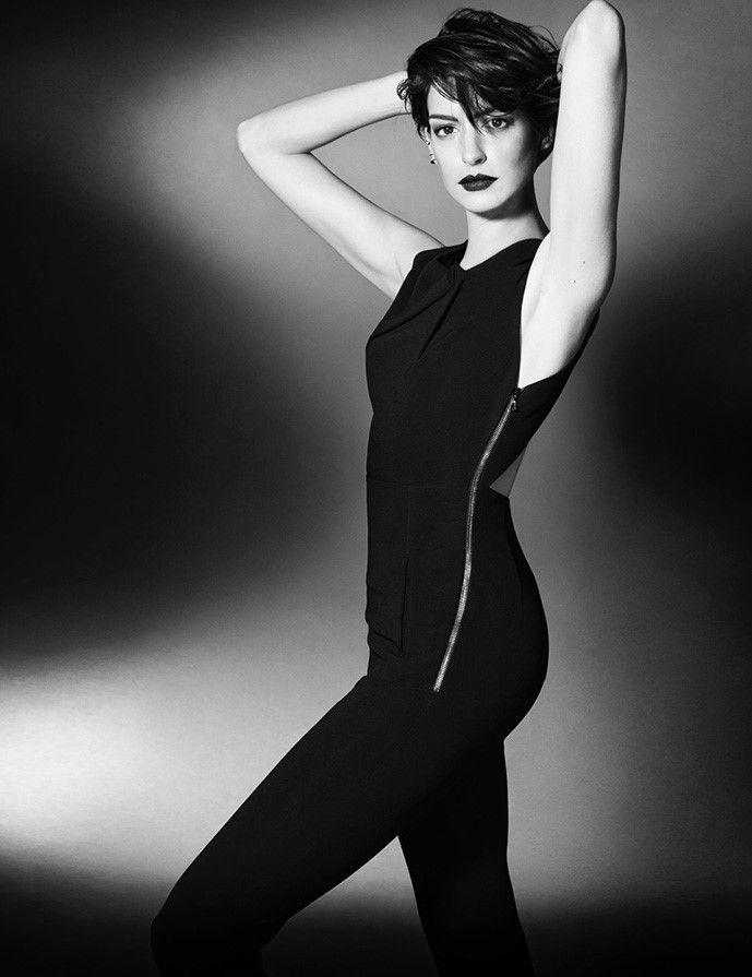 Энн Хэтэуэй для Elle UK November 2014
