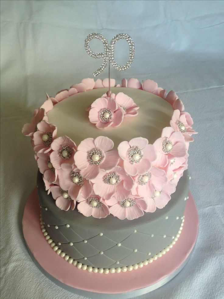 17 Best Ideas About 90th Birthday Cakes On Pinterest 90