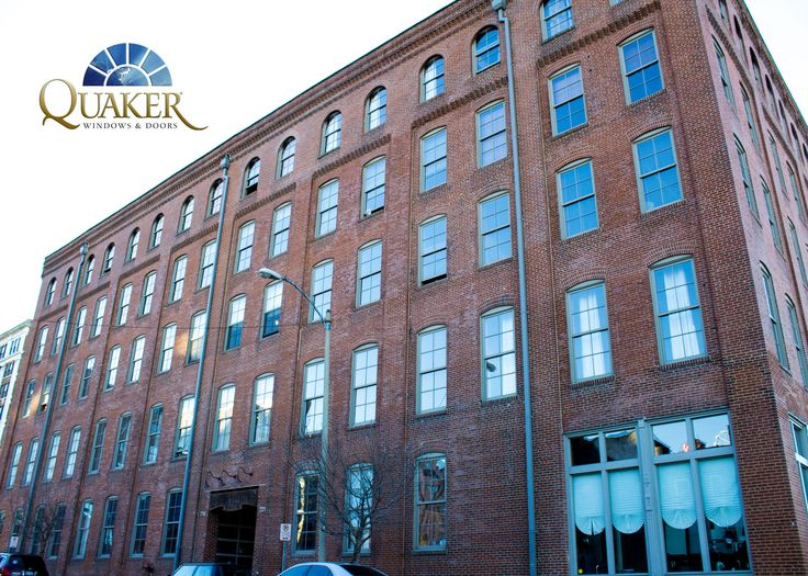Moon Brothers Lofts in St Louis, MO - Quaker Traditional Series T300 Single Hung windows www.quakerwindows.com