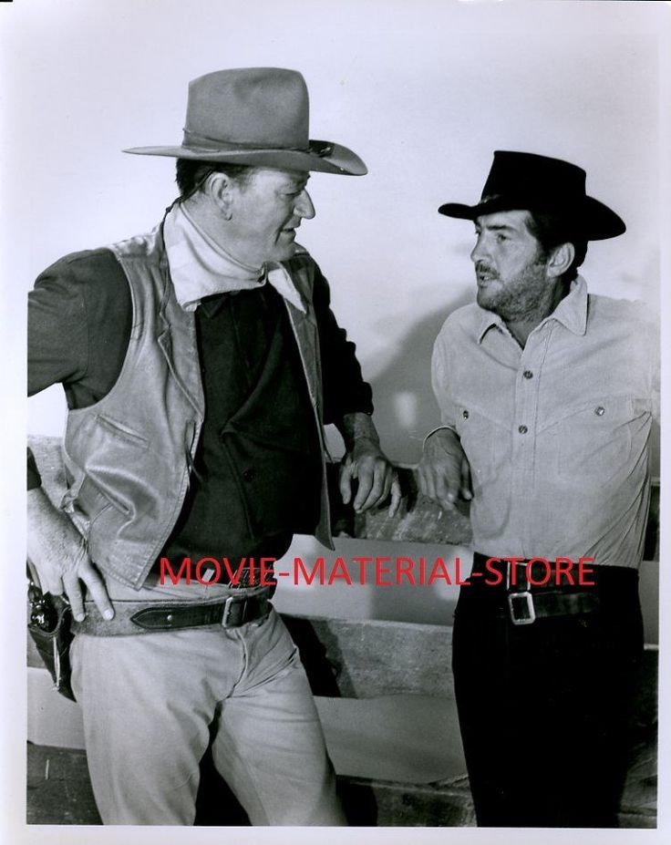 "John Wayne Dean Martin Sons Of Katie Elder 8x10"" Photo From Orig Neg #L7059"