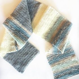 It's as light weight and airy as it looks. This scarf works up fast and turns out beautiful!   Here is what I did:   Yarn: Yarn Bee Brush...