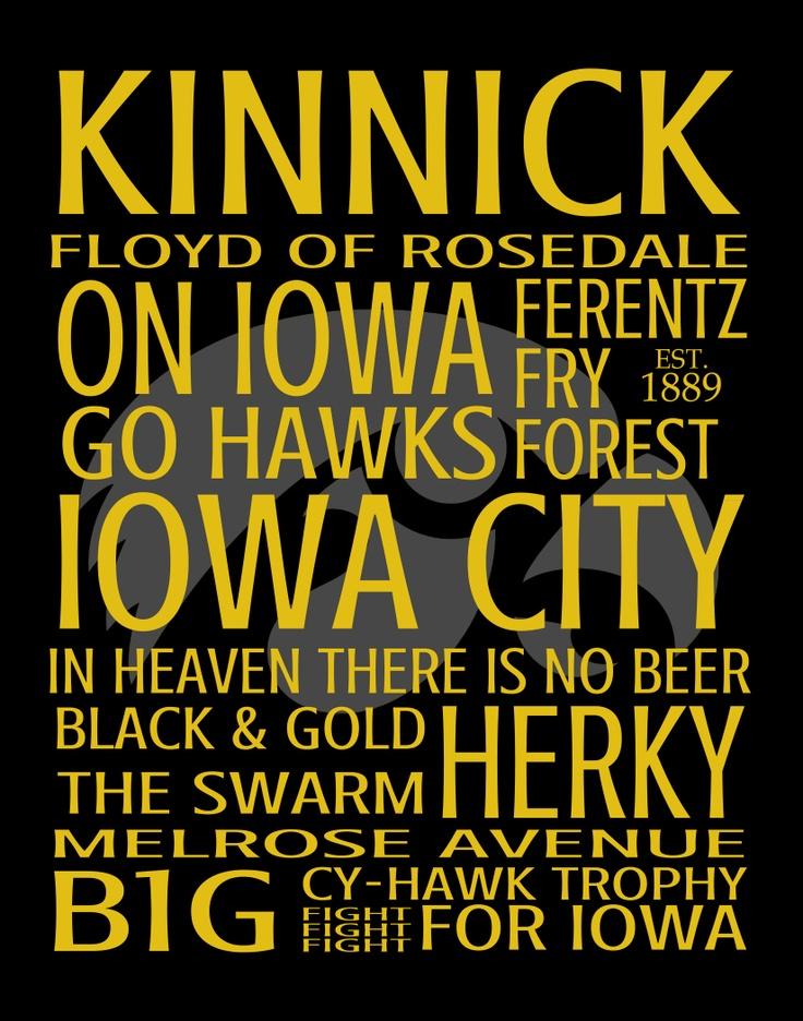 Kinnick Word Art - Free Download