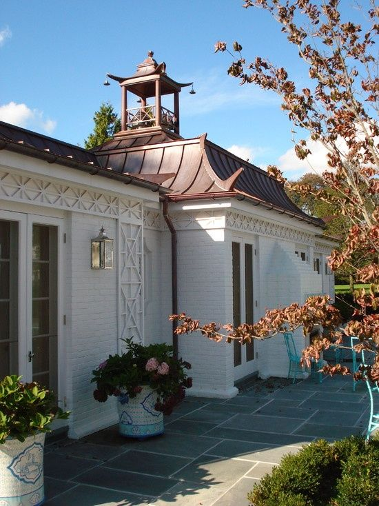 Pagoda cupola :: Roof