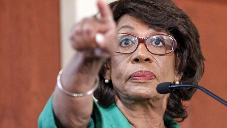"""A truly divisive and self enriching shrew, who became rich while keeping the people of color down on the plantations.  Rep. Maxine Waters, D-Calif., who went on BET Wednesday to blast President Trump's State of the Union Address, asked for a parental advisory each time the president appears on television.  """"Whenever he appears on TV there"""
