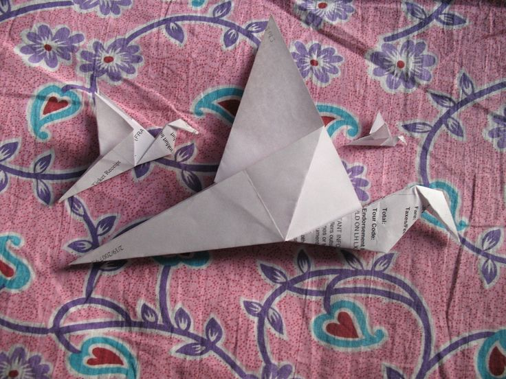 Kids Day - How to Make an Origami Flapping Bird -- via wikiHow.com