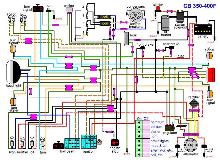 Cb400f Wiring Diagram Cb 500 Cb 450