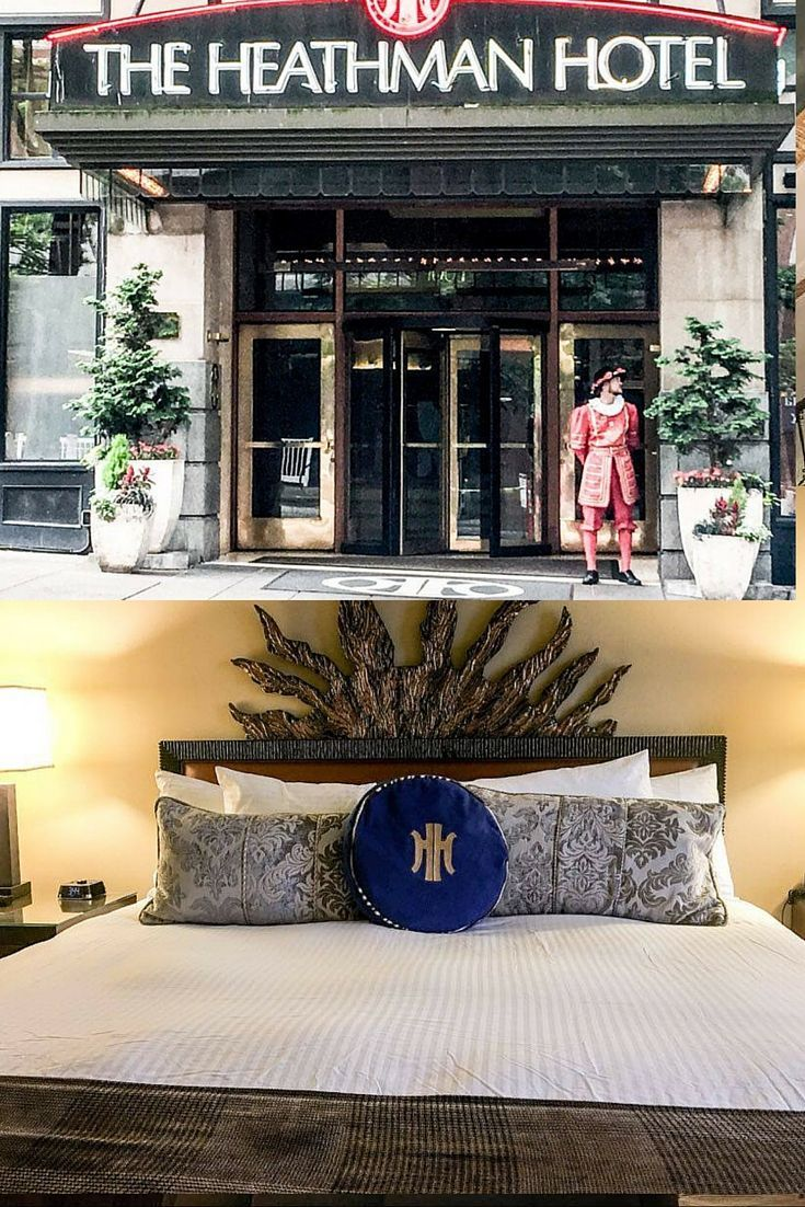 A historic hotel right in the heart of downtown Portland, Oregon