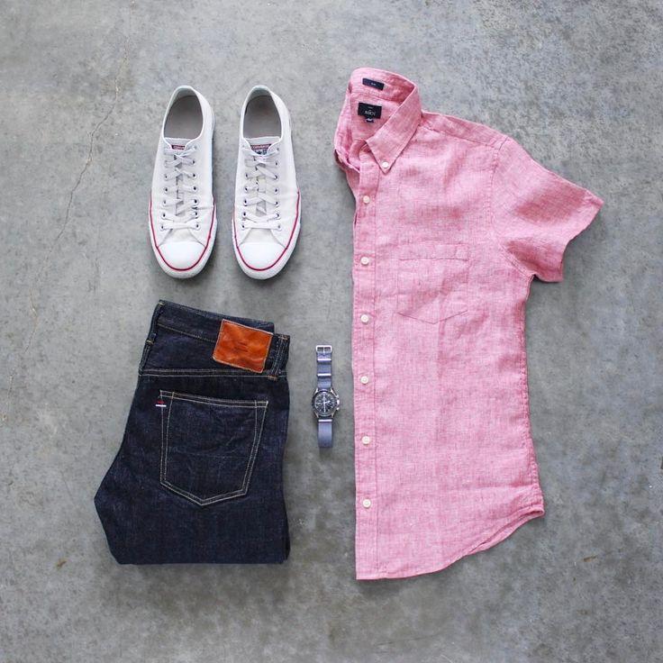 "2,304 Me gusta, 9 comentarios - Allen Walker (@awalker4715) en Instagram: ""Transitioning to linen and sneaker weather. And it's always denim season⌚️ Denim: @tanuki_inc…"""