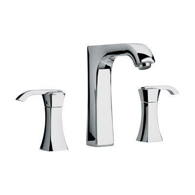 Jewel Faucets 1110 J11 Bath Series 2 Lever Handle Roman Tub Faucet with Arched Spout