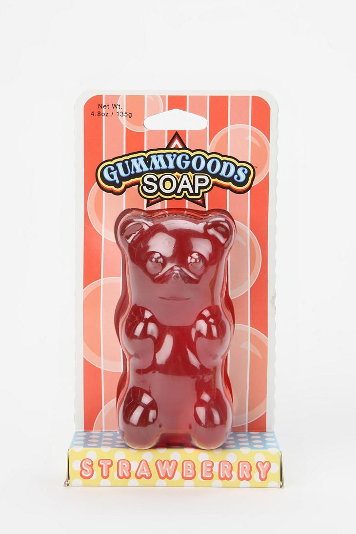 Haribo gummy bears are just one of many products that thomas - Gummy Bear Soap